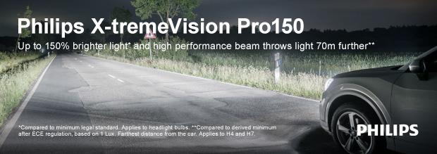 Philips X-tremeVision Pro150