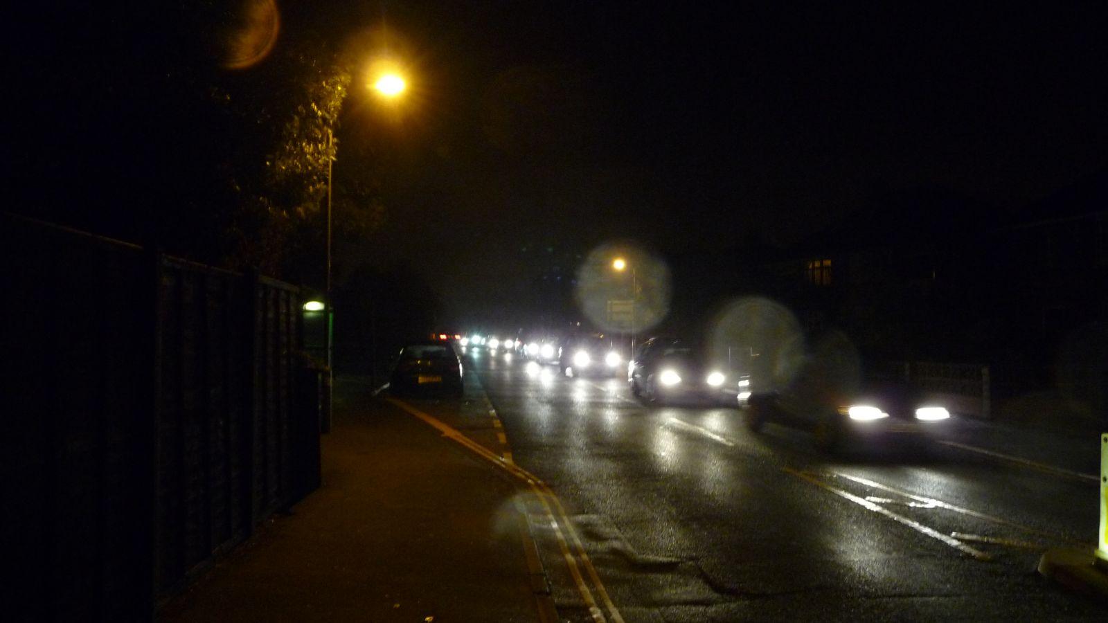 cars headlights at night wallpaper - photo #19