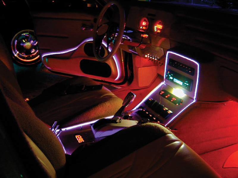 Interior car lighting what s on the market powerbulbs for Interior accent lights for cars