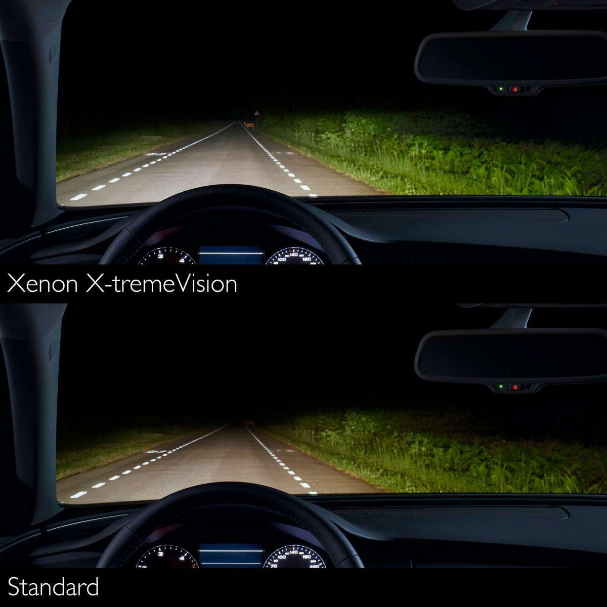 Philips Xenon X Treme Vision D1s Replacement Xenon Bulb