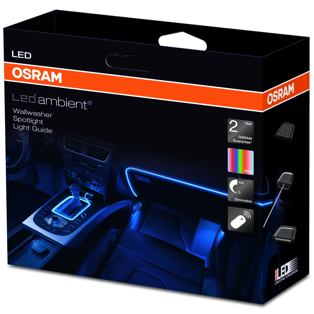 osram ledambient interior lighting kit eindu. Black Bedroom Furniture Sets. Home Design Ideas
