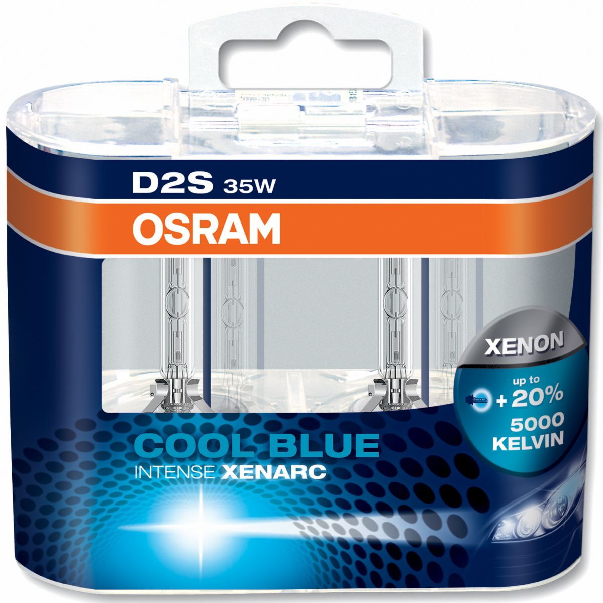 OSRAM Xenarc Cool Blue Intense D2S (Twin)